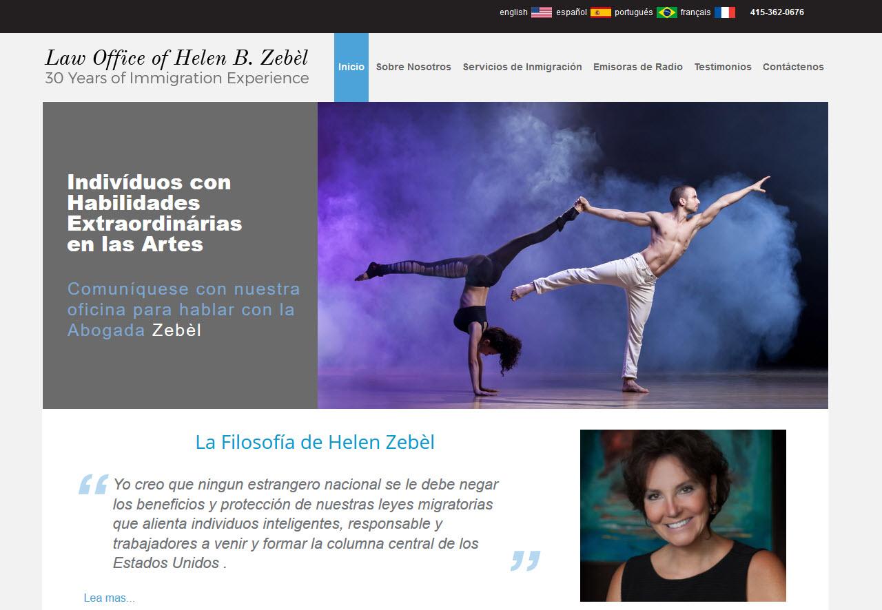 Spanish website version