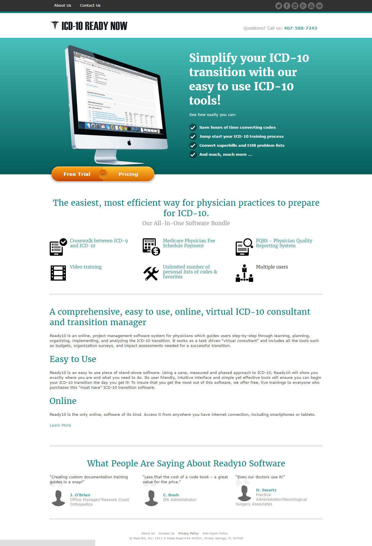 ICD-10 software home page