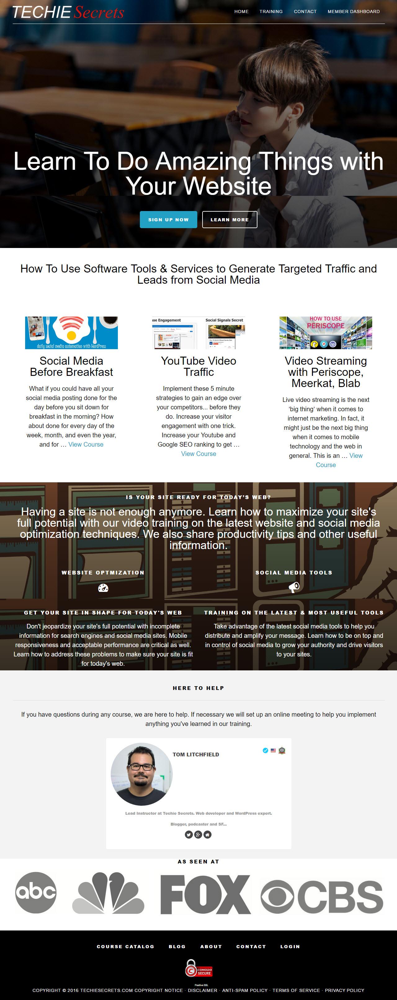 techie secrets home page